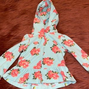 Baby Girl Blue Floral Jacket!